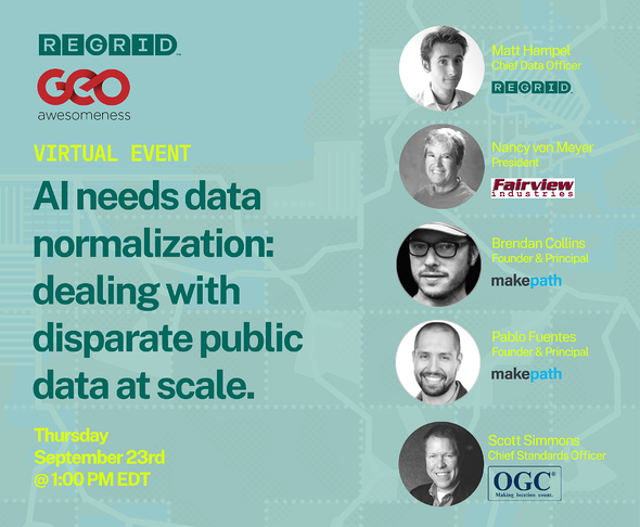 Virtual Event AI needs data normalization: dealing with disparate public data at scale.