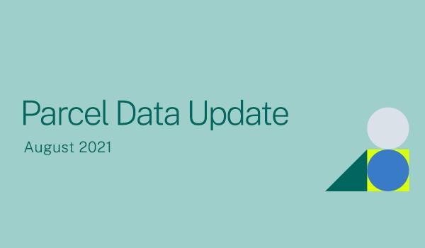 August 2021 Parcel Data Update